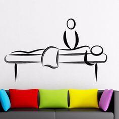 Massage Salon Decoration Spa Beauty Salon Decor Wall Sticker Vinyl Decal (z1127)