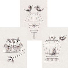 Christmas & Birds stitching patterns added at Form-A-Lines