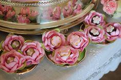 Forminhas de rosas