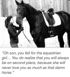 Equestrian girls...