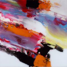 """Abstract Painting """"Zing"""" by Jeffrey Bisaillon"""