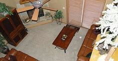 Cozy family room Pinetop Rental Cabin, LLC