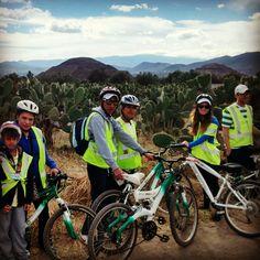 Tour en bici #Teotihuacan #Mexico