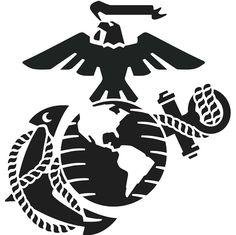 usmc emblem clip art marine logo clip art usmc pinterest rh pinterest com usmc clip art graphics usmc clipart free