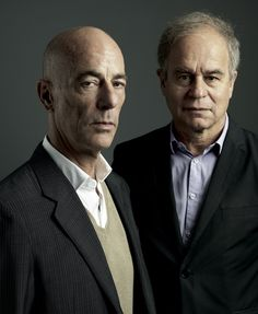 Image 2 of 2 from gallery of Herzog & de Meuron Win 2015 RIBA Jencks Award. Jacques Herzog (left) and Pierre de Meuron. Image Courtesy of Herzog & de Meuron.