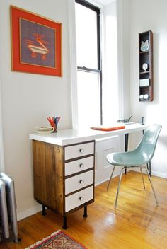 Modern DIY Desk Ideas for Home Workspaces | Apartment Therapy