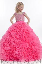 Rachel Allan Perfect Angel 1553  | Little Girl Pageant Dress