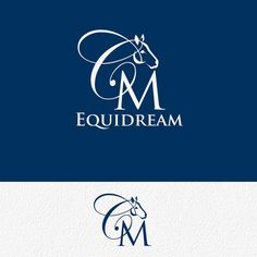 CM Equidream - Create a unique equestrian logo for a high end sports company An equestrian sports company that buys produces and sells showjumping horses. Typography Logo, Logos, Logo Football, Equestrian Style, Equestrian Fashion, Painted Pony, Logo Design Trends, Branding, Personal Logo