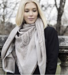 Capri scarf is the fall/winter must-have.