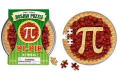 Pi-Pie Jigsaw Puzzle - If the story of your existence has involved a never-ending struggle to incorporate the iconic mathematical constant in every aspect of your life, t...