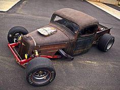 Tube-Framed '36 Chevy Rat Rod