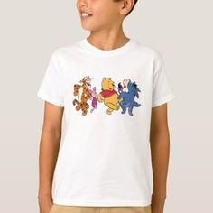 Shop Piglet, Tigger, and Winnie the Pooh Hiking T-Shirt created by winniethepooh. Kids Shirts, T Shirts For Women, Festival T Shirts, Gold T Shirts, Pregnancy Shirts, Tigger, Wardrobe Staples, Winnie The Pooh, Shirt Style