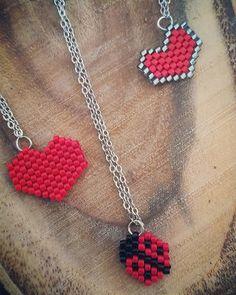 """""""3 kuruş fazla olsun kırmızı olsun"""" ♥️ #miyuki#bead#necklace#kolyemodelleri#kolye#jewellery#miyukiboncuk#bracelet#brickstitch#taki#tasarım#handmade#elisi#elemegi#moda#trend#fashion#design#love#amor#ask#red#kirmizi#endless#instagood#instamoda#woman#kadin"""