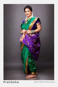 Traditonal Marathi woman