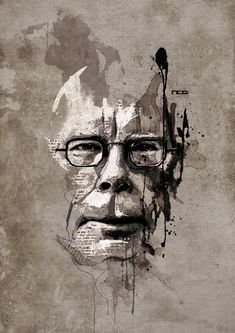 Stephen King by Florian Nicolle Steven King, Stephen King Books, King Art, Portrait Art, Portrait Paintings, Drawing Portraits, Drawings, Creative Portraits, Cultura Pop