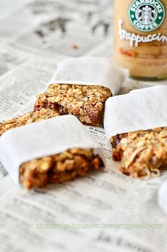 Healthy Breakfast Bars To Go!!!