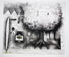 Paulo Lisboa - Verdinho para colorir a paisagem gravura em metal