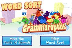 Word Sort by Grammaropolis by Grammaropolis LLC
