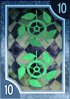 Persona 3/4 Tarot Card Deck HR - Suit of Wands 10 by Enetirnel