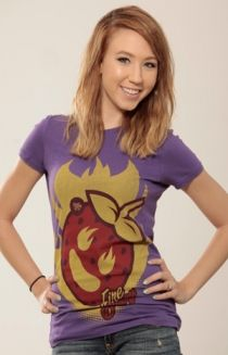 Strawburry17 fireburry t-shirt   Districtlines.com     Check out strawburry17's channel on YouTube