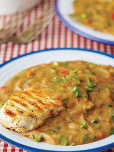 Tavuk gumbo Tarifi - Türk Mutfağı Yemekleri - Yemek Tarifleri