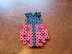 lady bug hama beadsperler beads