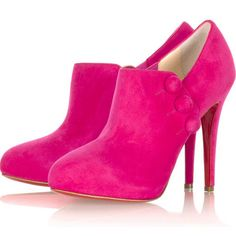 pink louboutin boots!