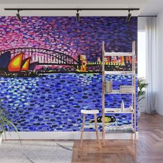Sydney Harbour Wall Mural by artgaragefinland Australia Day, Western Australia, Australian Icons, Wall Murals, Wall Art, Art Market, Photographic Prints, Fine Art America, Sydney