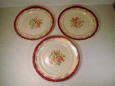 Rare Sebring Royal China Luncheon Plate by ShellysPlace2Buy