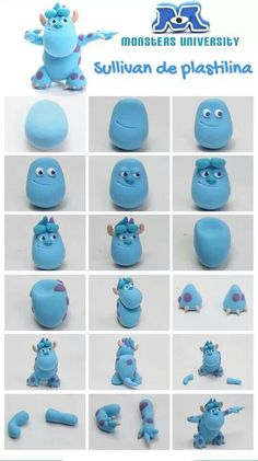 Sugar Modelling Tutorial - Sully from Monsters University