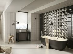 Double-fired ceramic wall tiles DOUBLE by Cooperativa Ceramica d'Imola