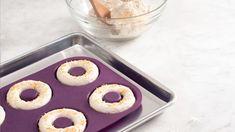 Onion & Garlic Bagels | Epicure.com Epicure Recipes, Waffle Recipes, Dessert Dips, No Bake Desserts, Bagels, Le Boudin, Bagel Recipe, Valeur Nutritive, Waffle Mix