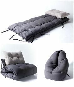 schlafsessel wohnideen komfortabel matratze