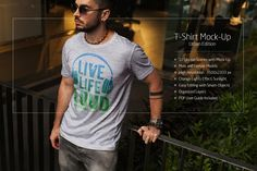 T-Shirt Mock-Up Urban Edition by RDK Design on @creativemarket