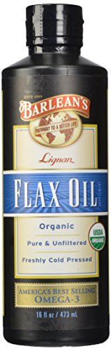 Barlean's Organic Oils High Lignan Flax Oil, 16-Ounce Bottle *** Continue to the product at the image link.