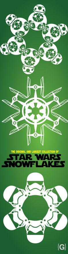 2015 Star Wars Snowflake Templates