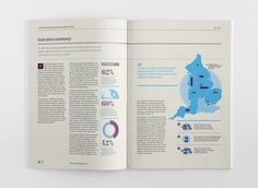 Infographic Report: Countrywide by The Design Surgery , via Behance