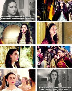 """Mary Stuart- I love her line at the end. """"If it ever comes to a choice between our two countries, I will choose mine. Reign Mary, Mary Queen Of Scots, Queen Mary, Celina Sinden, Vampire Diaries Season 7, Caitlin Stasey, Reign Tv Show, Anna Popplewell, The Light Is Coming"""
