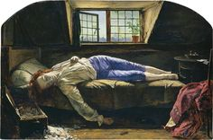 The Pre-Raphaelite Brotherhood (also known as the Pre-Raphaelites) was a group of English painters, poets, and critics, founded in 1848 by William Holman Hunt, John Everett Millais and Dante Gabriel Rossetti Wallis, Memes Arte, Classical Art Memes, Google Art Project, Charles Gleyre, Beaux Arts Paris, Birmingham Museum, Dante Gabriel Rossetti, Albert Bierstadt