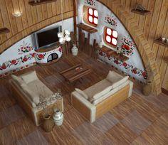 Дизайн в украинском стиле
