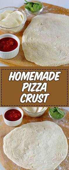 Homemade pizza crust is so much better than store bought. Learn how to make the best ever pizza dough with this easy, step-by-step recipe and video. Get tips for using, storing, and rolling out pizza dough. Wheat Pizza Dough, Easy Pizza Dough, Whole Wheat Pizza, Kos, Pizza Dough From Scratch, Easy Bake Oven, Making Homemade Pizza, Pizza Recipes, Oven Recipes