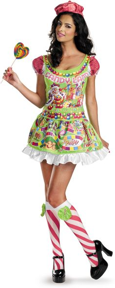 Candyland Sexy Deluxe Adult Women's Costume