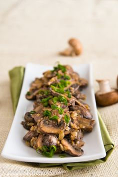 Mushrooms in a Sour Cream Sauce Nutrition Facts 2 Servings Amount Per Serving   Calories 	411.5   Total Fat 	41.0 g   Saturated Fat 	5.5 g   Polyunsaturated Fat 	3.6 g   Monounsaturated Fat 	29.9 g   Cholesterol 	0.0 mg   Sodium 	6.6 mg   Potassium 	455.3 mg   Total Carbohydrate 	10.3 g   Dietary Fiber 	2.7 g   Sugars 2.0 g   Protein 	4.2 g
