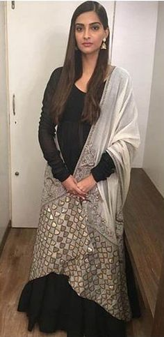 By Anamika Khanna. Shop for your wedding trousseau, with a personal shopper & stylist in India - Bridelan, visit our website www.bridelan.com #Bridelan #anamikakhanna #sonamkapoor