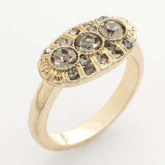 LC Lauren Conrad Gold Tone Simulated Crystal Filigree Ring  sale $11.20  original $16.00  I lost mine.  :(