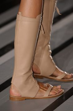 Victoria Beckham Spring. I find these totally impractical. Too hot in summer & not suitable for winter. What were they thinking??????