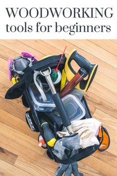 Woodworking is more than a DIY project, it's truly an art! Learn all about these essential woodworking tools for beginners and start you new hobby! #woodworking #DIY #woodwork #woodprojects #tools Woodworking Tools For Beginners, Essential Woodworking Tools, Easy Woodworking Projects, Wood Projects, Kreg Jig K5, Small Gauges, Finish Nailer, Basic Nails, Pocket Hole Jig