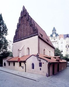 Oldest surviving synagogue in Europe built in 1270