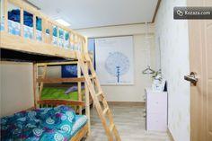 IN Guest House in Hongdae, Seoul - Blue Room