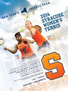Syracuse Tennis Poster 2014